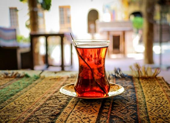 طريقة الشاي التركي