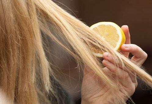 طريقة تفتيح الشعر بالليمون