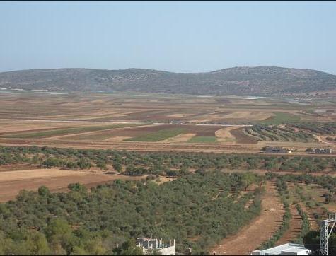 المنطقة الجنوبية من السهل الساحلي الفلسطيني