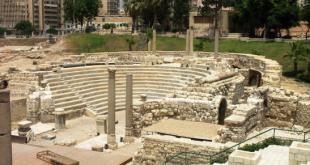 اين يوجد المسرح الروماني بالمدينة القديمة