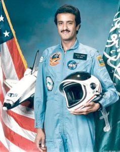 أول رائد فضاء عربي مسلم