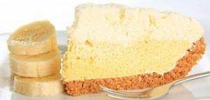 الكيكة الاسنفجية بالموز