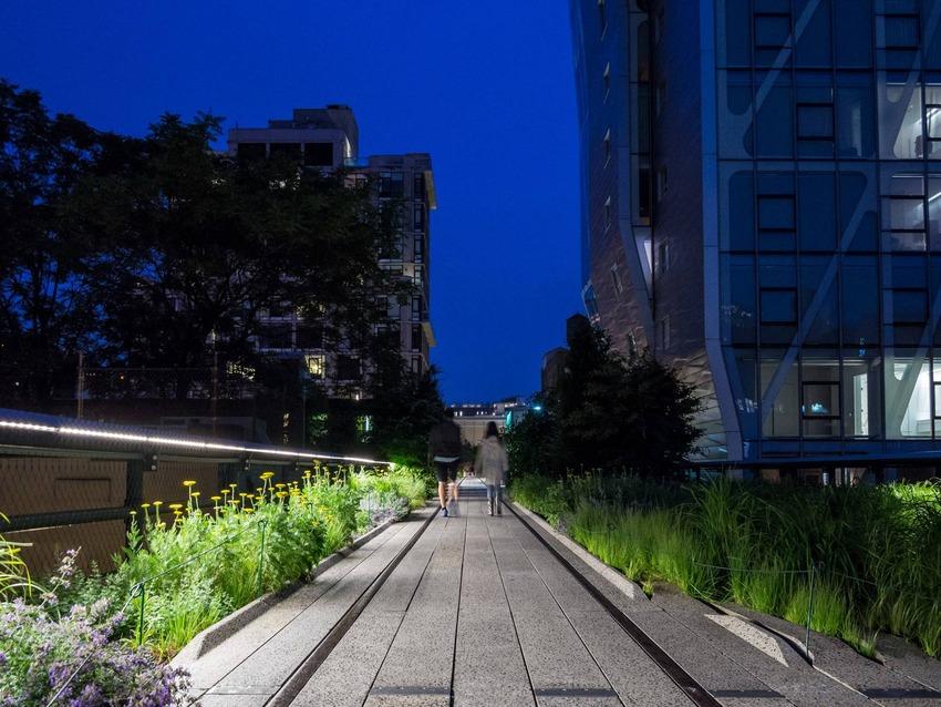 اجمل الحدائق في العالم- حديقة الهاي لاين في نيويورك