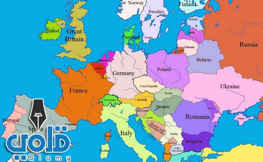 قارات العالم ودولها-أوروبا