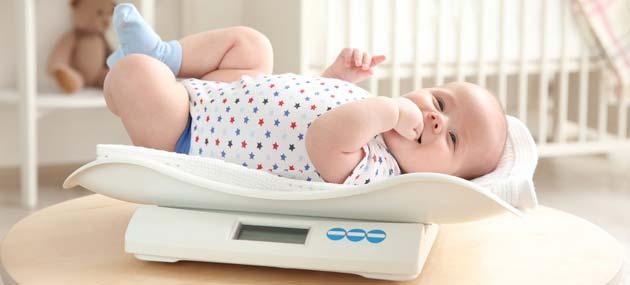 كيف أعرف وزن طفلي الطبيعي1