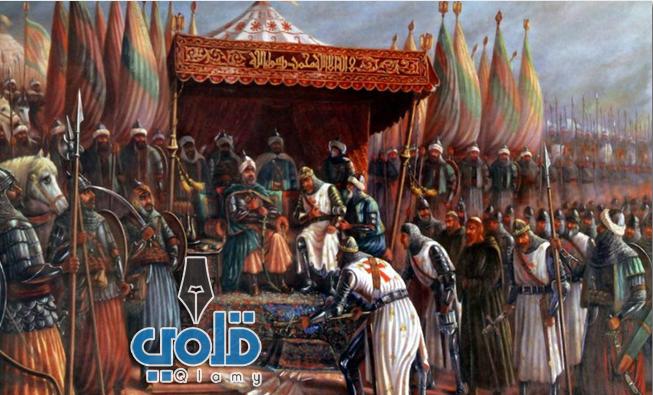 صلاح الدين الأيوبي والصليبيين