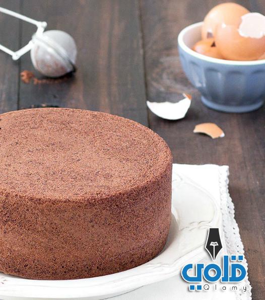 طريقة عمل الكيكة الاسفنجية بالشوكولاتة