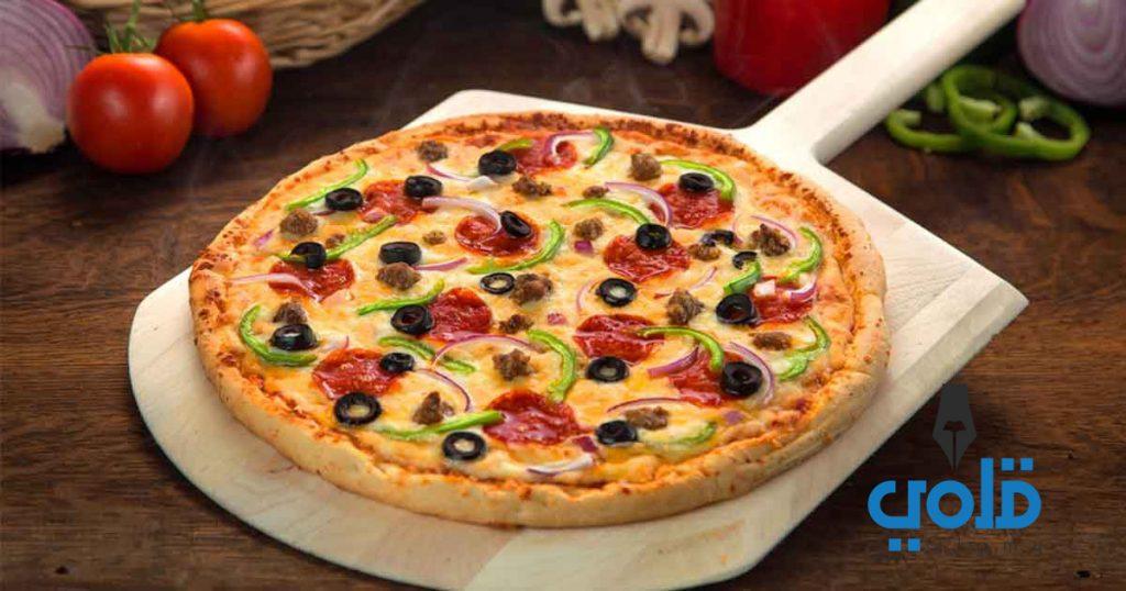 كيفية عمل البيتزا