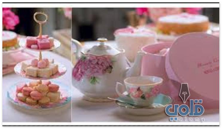موضوع عن حفلات الشاي