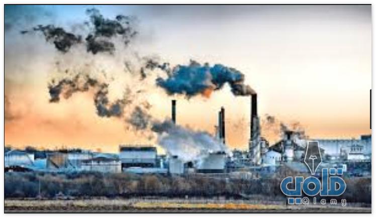 صور تمثل البيئة الضارة الملوثة