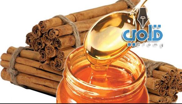 العسل والقرفه للتخسيس