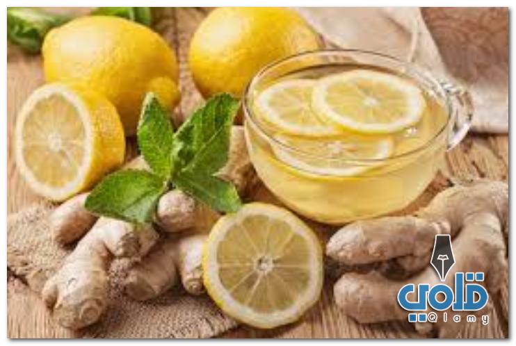 وصفة الزنجبيل والليمون والقرفة