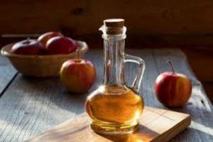 الخل الابيض وخل التفاح