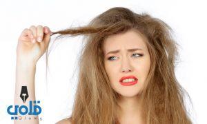 علاج جفاف الشعر وتقصفه