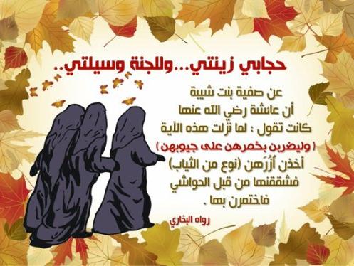 فضائل الحجاب