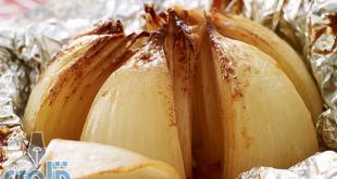 ماهي فوائد البصل المشوي