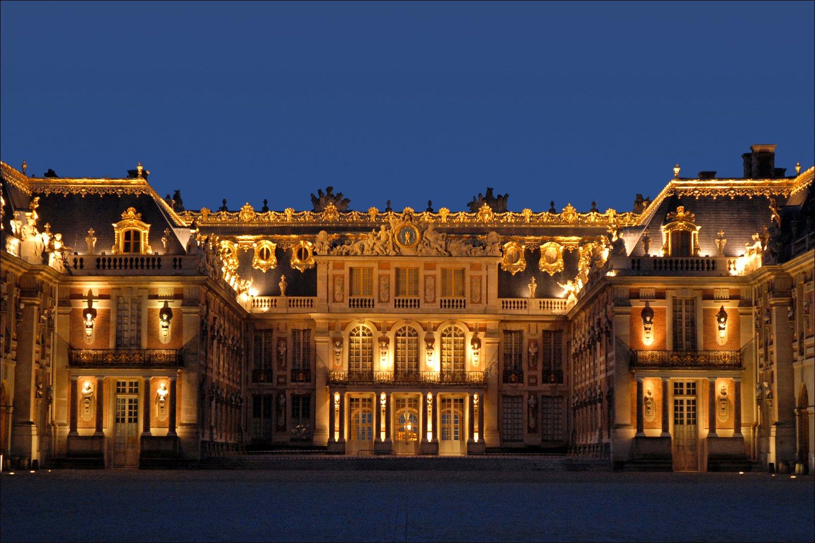 أين يوجد قصر فرساي