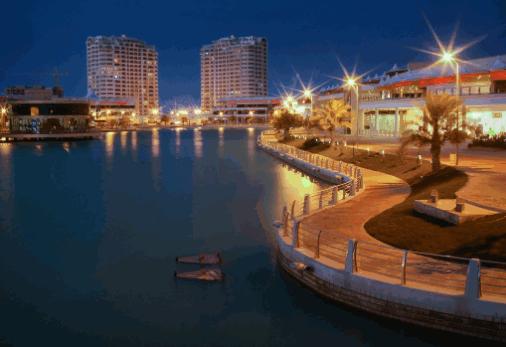 احداثيات جزر امواج البحرين