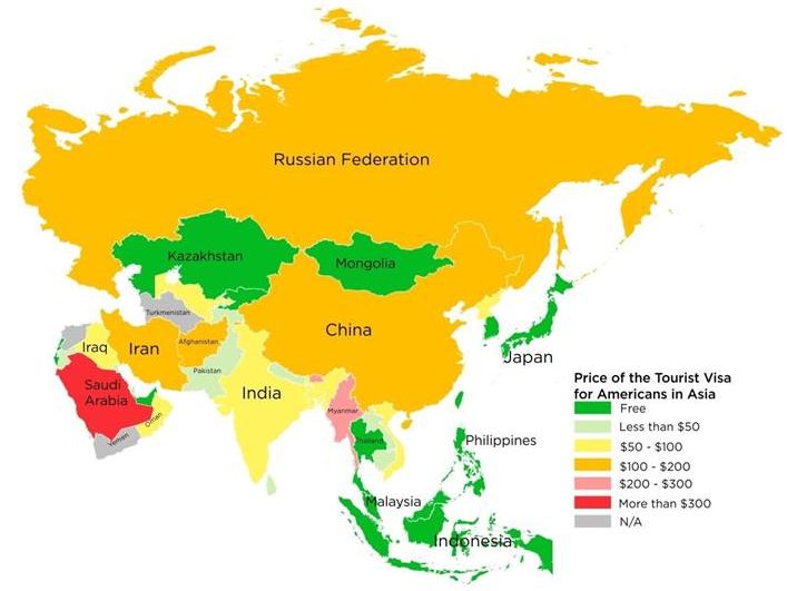 هل الامريكي يحتاج فيزا لدخول السعودية