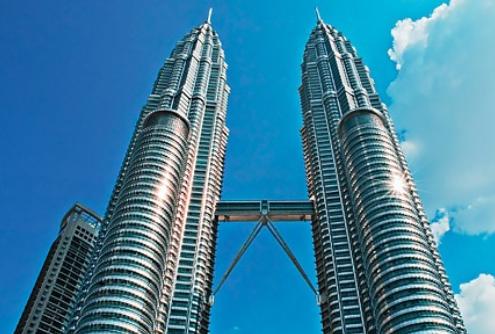 رحلتي الى ماليزيا العرب المسافرون - البرجين التوأم