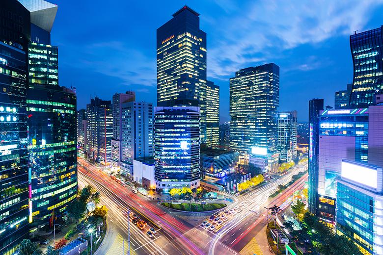 كوريا الجنوبية سيول شارع العرب