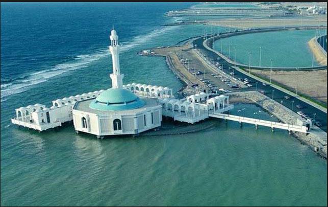 المسجد العائم في جدة - السياحة في السعودية بالصور