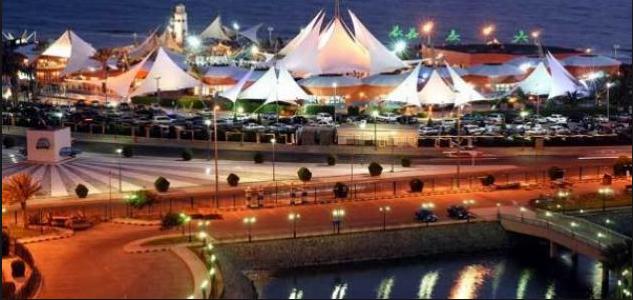 جزيرة الشراع في جدة - السياحة في السعودية بالصور