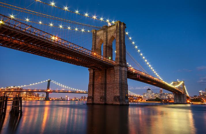 السياحة في نيويورك - جسر بروكلين