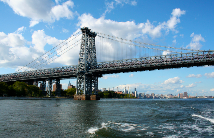 السياحة في نيويورك - جسر ويليامزبرغ