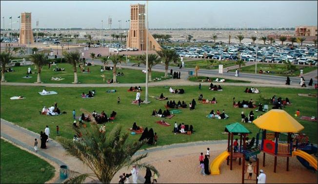 واجهة الدمام البحرية - السياحة في السعودية بالصور