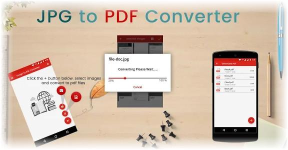 تحويل jpg الى pdf