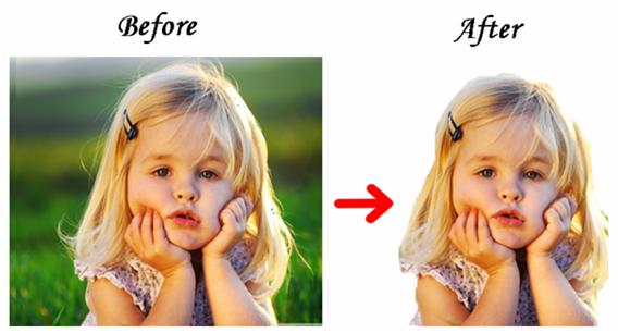 كيفية ازالة خلفية الصورة
