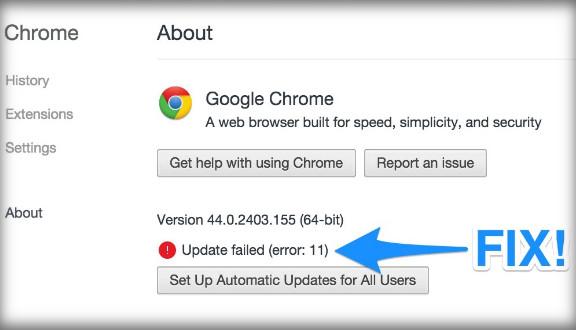 كيفية حل مشكلة لن يستلم هذا الكمبيوتر تحديثات ل google chrome