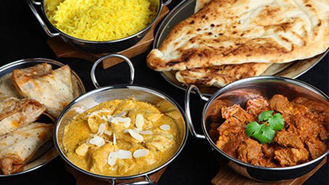 الأكلات الهندية