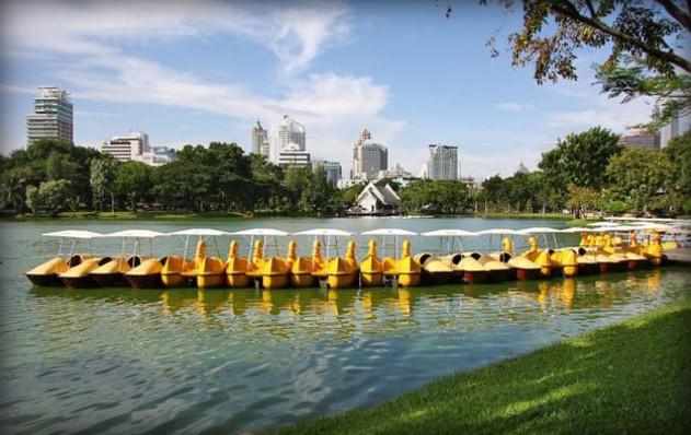 السياحة في بانكوك - حديقة لومبيني
