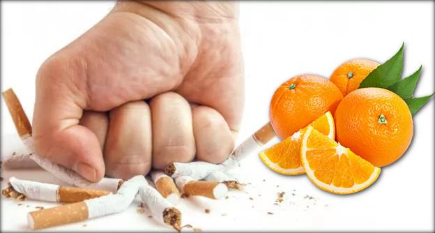 كيفية الاقلاع عن التدخين بواسطة البرتقال